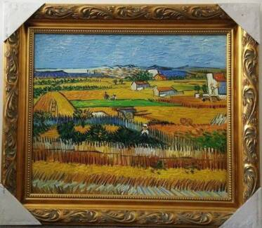 Van Gogh framed oil painting 68cm X 78cm reproduction Melbourne CBD Melbourne City Preview