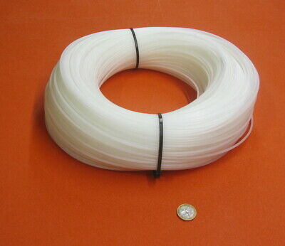"""UHMW PE White Welding Rod Coil 1/8"""" Dia -.125"""",  5 Lb. 1050 Feet for sale  Shipping to Canada"""