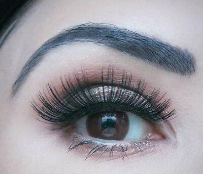 Farbige braune Big Eyes Kontaktlinsen mit Stärke Pretty Hazel Circle Lens Puppe