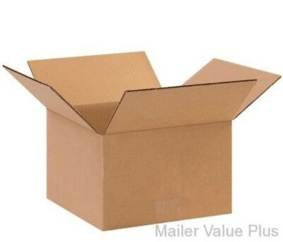 50 - 10 X 10 X 6 Shipping Boxes Packing Moving Cartons Cardboard Mailing Box