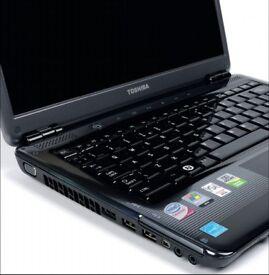 13.3'' TOSHIBA Satellite U400 Shiny Laptop:*Intel Core2Duo 2.00GHz*4GB*160GB*WiFi*Cam*Win7*Ofice2016