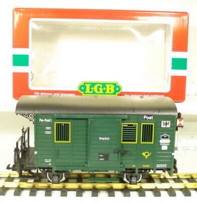 LGB 32190 Bag/Mailcar - Metal Wheels LN/Box