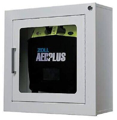 Metal Wall Cabinet With Alarm For Zoll Aed Plus