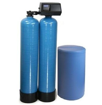 """IRON FILTER WATER SYSTEM KDF 85 64,000 grain 12x52/"""" 2 CUFT WELL WATER SOFTENER"""