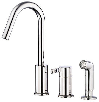 Amalfi Single Hand Kitchen Faucet Chrome