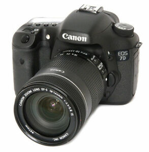 SLR Camera - Canon EOS 7D with Canon EFS 18-135 MM Lens