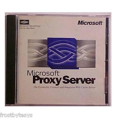 Microsoft Proxy Server With Cd Product Key   Free Ship