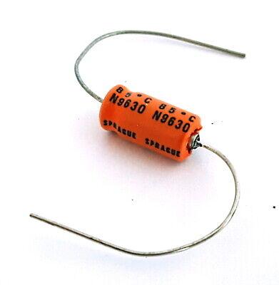 33uf 35v Vintage Sprague Axial Electrolytic Capacitors 516d336m035 20 Pieces
