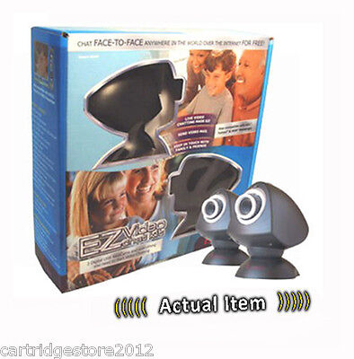Ezonics Web Video Chat Kit   2 Web Cams    In Original Box   1Used1new   Genuine