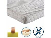 MINIMAL USE Reflex foam orthopaedic mattress - £40 ono.