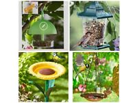 Bird feeders/baths