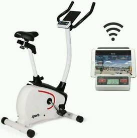 Sportplus 9500 Magnetic bike with BLUETOOH routes