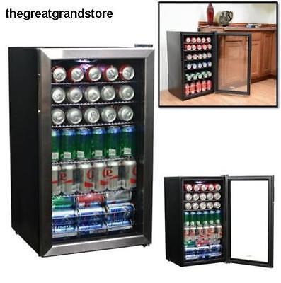 Commercial Beverage Cooler Refrigerator Freezer Fridge Rack Cold Drink Party Bar