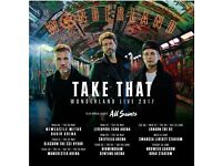 2x Take That Seated Tickets