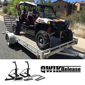 NEW ATV MIGHTY TITE TIE DOWN SYSTEM QRT35075 187298561 ATV UTV TRANSPORT TRUCK BED TRAILER