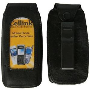 Telstra EASY TOUCH DISCOVERY 2  ZTE T2 Leather Case with Belt Clip