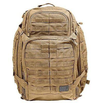 Brand New 5.11 Rush 72 Backpack in FDR Tan UK Seller Military 3 Day Pack