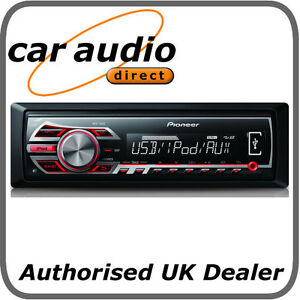 Pioneer MVH-150UI Car Stereo Front USB WMA/MP3 Playback, Made for iPod / Android