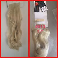 Ponytail hair extensions pieces