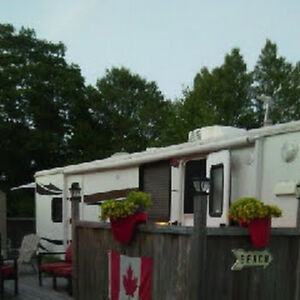 Camper at Hubbards Beach Campground/reduced price