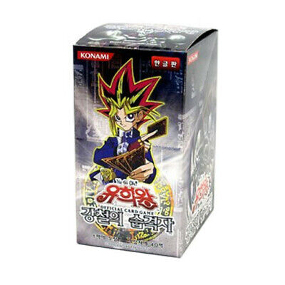 "[Yugioh] ""Metal Raiders"" Booster Box MRD-K / Korean Ver ⭐Tracking⭐"