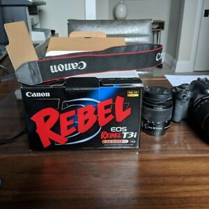 Canon Rebel T3i Camera with multiple lenses
