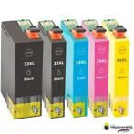 Inktcartridge Epson T3351-T3364 (33XL) set (5 inktpatrone...