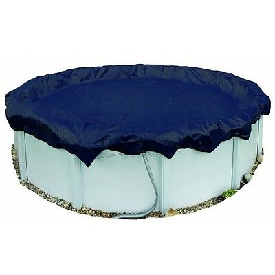 33' Round Arctic Armor 8yr Solid Above Ground Winter Pool Cover - WC713-4 Arctic Winter Round Pool Cover