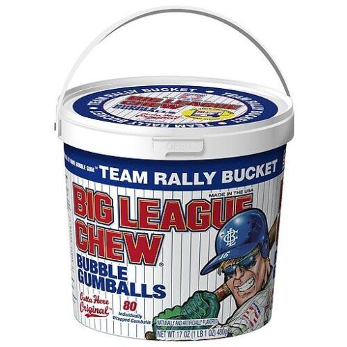 Big League Chew - Original Bubble Gum Flavor + 80pcs Individually Wrapped