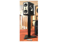 Towersonic TS1 Professional Studio Monitor Stands, Heavy Duty.