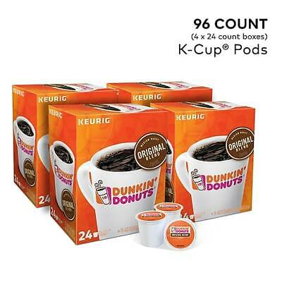 Dunkin' Donuts Original Blend Coffee Regular K-Cup Pods, 96 ct. Free Shipping! Dunkin Donuts Free Coffee