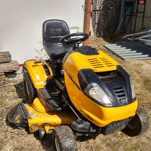 "Cub Cadet Tractor With 50"" deck and 42"" snowblower"