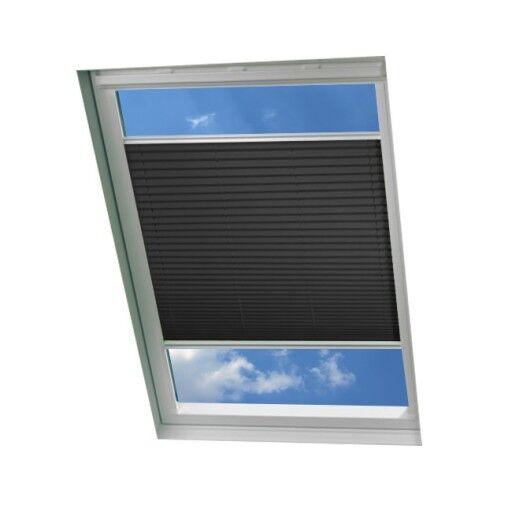 Dachfenster Waben Plissee Faltrollo für Velux - 100% Verdunkelung mit Schienen