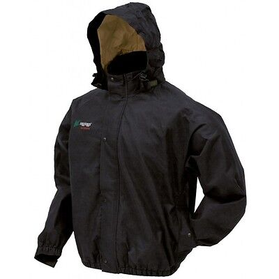 Frogg Toggs PS63172-01 Bull Frogg Jacket Black X-Large New