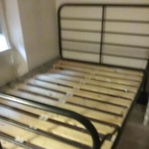IKEA FULL/DOUBLE METAL BED FRAME
