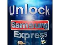 Samung network unlock 24 hour