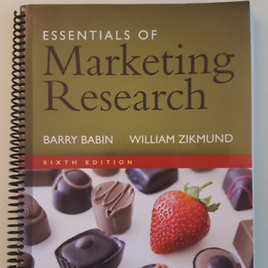 Essentials of Marketing Research by Barry Babin and William Z.