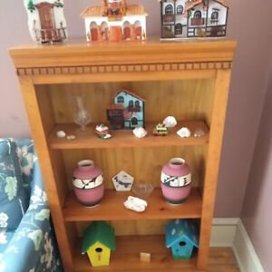 Amherst solid wood book shelf