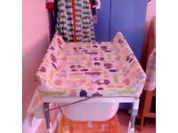 Cosatto baby changing table / baby bath for sale - Good condition