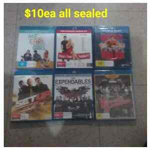 Dvds all sealed in plastic store wrap Cranebrook Penrith Area Preview
