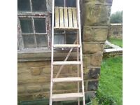 Wooden Step Ladders - Large