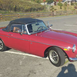 1971 MG MGB Roaster