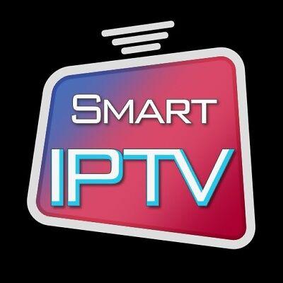 IPTV Smart TV 1 Jahr Abo über +4500 Kanäle Viele Länder Verfügbar