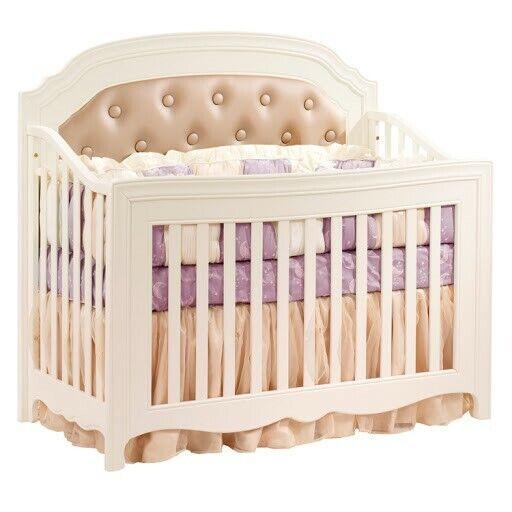 Natart JuvenileAllegra Crib plus Essentia Core Organic Mattress