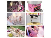 Sweet,Popcorn,Candy Floss,Bouncy Castle,Limo,Game,face painter,Teepee,Party,Art,Photograph,VR,Pamper