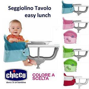 Chicco seggiolino pappa da tavolo easy lunch collezione nuova ebay - Seggiolino da tavolo prezzi ...