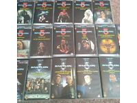 53 Various VHS Video tapes including friends - babylon 5 - kids - action etc