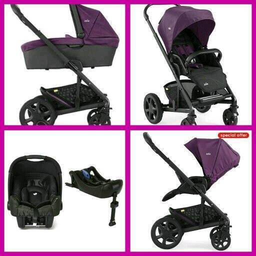 Original price £440 Joie Gemm isofix car base, car seat carrycot, pushchair