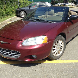 2002 Chrysler Sebring LXI Cabriolet / Convertible
