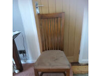 Real Wood Dining Room Chair